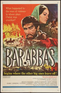 "Movie Posters:Adventure, Barabbas and Others Lot (Columbia, 1962). One Sheets (4) (27"" X41""). Adventure.. ... (Total: 4 Items)"