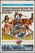"""Movie Posters:Adventure, Legions of the Nile and Others Lot (20th Century Fox, 1960). OneSheets (5) (27"""" X 41""""). Adventure.. ... (Total: 5 Items)"""