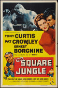 "Movie Posters:Sports, The Square Jungle (Universal, 1956). One Sheet (27"" X 41""). Sports.. ..."