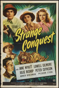 "Movie Posters:Drama, Strange Conquest (Universal, 1946). One Sheet (27"" X 41""). Drama....."