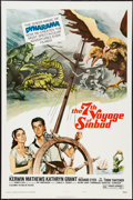 "Movie Posters:Fantasy, The 7th Voyage of Sinbad (Columbia, R-1975). One Sheet (27"" X 41"").Style B. Fantasy.. ..."