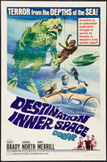 """Movie Posters:Science Fiction, Destination Inner Space (Magna, 1966). One Sheet (27"""" X 41"""").Science Fiction.. ..."""
