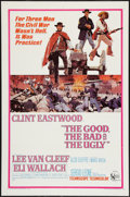 "Movie Posters:Western, The Good, the Bad and the Ugly (United Artists, 1968). One Sheet(27"" X 41""). Western.. ..."