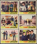 "Movie Posters:Rock and Roll, A Hard Day's Night (United Artists, 1964). Lobby Cards (6) (11"" X 14""). Rock and Roll.. ... (Total: 6 Items)"