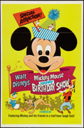 "Movie Posters:Animation, Mickey Mouse Happy Birthday Show (Buena Vista, R-1968). One Sheet (27"" X 41""). Animation.. ..."
