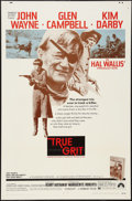 """Movie Posters:Western, True Grit (Paramount, 1969). One Sheet (27"""" X 41""""). Western.. ..."""