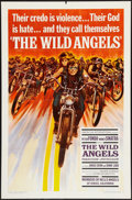 "Movie Posters:Exploitation, The Wild Angels (American International, 1966). One Sheet (27"" X41""). Exploitation.. ..."