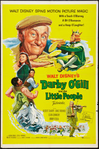 "Darby O'Gill and the Little People (Buena Vista, 1959). One Sheet (27"" X 41""). Fantasy"