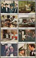 "Movie Posters:Crime, The Godfather (Paramount, 1972). Mini Lobby Card Set of 8 (11"" X14""). Crime.. ... (Total: 8 Items)"