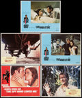 "Movie Posters:James Bond, James Bond Lot (United Artists, 1970s-1980s). Lobby Cards (5) (11""X 17"") & Uncut Pressbooks (2) (8 Pages each, (11"" X 17"")...(Total: 7 Items)"
