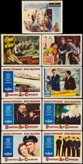 "Movie Posters:Miscellaneous, James Stewart Lot (Various, 1947-1962). Lobby Cards (9) (11"" X 14""). Miscellaneous.. ... (Total: 9 Items)"