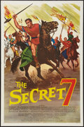 "Movie Posters:Adventure, The Secret 7 (MGM, 1966). One Sheet (27"" X 41""). Adventure.. ..."