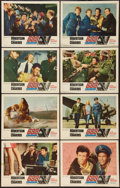 "Movie Posters:War, 633 Squadron (United Artists, 1964). Lobby Card Set of 8 (11"" X14""). War.. ... (Total: 8 Items)"