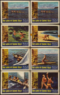 "Movie Posters:Adventure, She Gods of Shark Reef (American International, 1958). Lobby Cards(8) (11"" X 14""). Adventure.. ... (Total: 8 Items)"