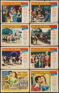 "Movie Posters:Fantasy, Son of Ali Baba (Universal International, 1952). Lobby Card Set of8 (11"" X 14""). Fantasy.. ... (Total: 8 Items)"