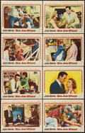 "Movie Posters:Drama, Big Jim McLain (Warner Brothers, 1952). Lobby Card Set of 8 (11"" X14""). Drama.. ... (Total: 8 Items)"