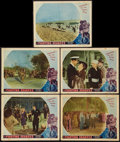 """Movie Posters:War, The Fighting Seabees (Republic, 1944). Lobby Cards (5) (11"""" X 14"""").War.. ... (Total: 5 Items)"""