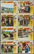 """Movie Posters:Western, Gunpoint (Universal, 1966). Lobby Card Set of 8 (11"""" X 14""""). Western.. ... (Total: 8 Items)"""