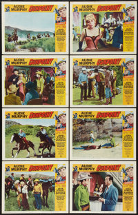 "Gunpoint (Universal, 1966). Lobby Card Set of 8 (11"" X 14""). Western. ... (Total: 8 Items)"
