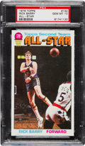 Basketball Cards:Singles (1970-1979), 1976 Topps Rick Barry #132 PSA Gem Mint 10!...