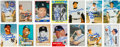 Baseball Cards:Lots, Signed Mickey Mantle Card Collection (33) Plus Berra, Mays andFord. ...