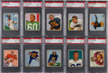 Football Cards:Sets, 1950 Bowman Football Mid To High Grade Complete Set (144)....