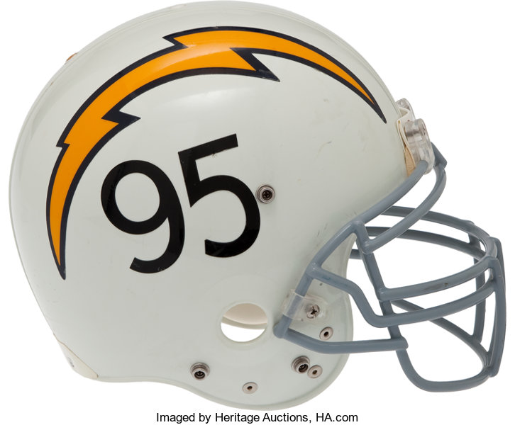 lowest price b53ab e6f03 2005 Shaun Phillips Game Worn San Diego Chargers Throwback ...