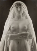 Photographs:20th Century, RUTH BERNHARD (American, 1905-2006). Bride II, 1968. Vintagegelatin silver proof. 4-3/8 x 3-1/4 inches (11.1 x 8.3 cm)...