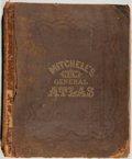 Books:Maps & Atlases, [S. Augustus Mitchell]. Mitchell's New General Atlas.Philadelphia: Mitchell, 1871. Folio. Publisher's half leat...