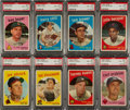 Baseball Cards:Lots, 1959 Topps Baseball PSA NM-MT+ 8.5 Collection (16). ...