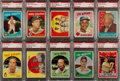 Baseball Cards:Sets, 1959 Topps Baseball PSA NM-MT 8 Collection (129). ...