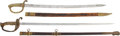 Edged Weapons:Swords, Lot of Two Assorted Swords.... (Total: 2 Items)