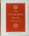 Books:Books about Books, [Typography]. Stanley Morison and Kenneth Day. The Typographic Book 1450-1935. [Chicago]: University of Chicago Pres...