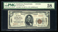 National Bank Notes:Pennsylvania, Souderton, PA - $5 1929 Ty. 2 The Peoples NB Ch. # 13251. ...