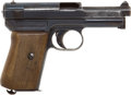 Handguns:Semiautomatic Pistol, Mauser Model 1914 Semi-Automatic Pistol and Holster....