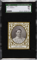 Baseball Cards:Singles (Pre-1930), 1909 T204 Ramly Bill Dineen SGC 86 NM+ 7.5 - Pop One, SecondHighest Known! ...