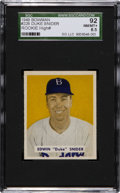 Baseball Cards:Singles (1940-1949), 1949 Bowman Duke Snider #226 SGC 92 NM/MT+ 8.5 - Pop One, TwoHigher! ...