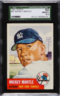 Baseball Cards:Singles (1950-1959), 1953 Topps Mickey Mantle #82 SGC 92 NM/MT+ 8.5....