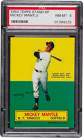 Baseball Cards:Singles (1960-1969), 1964 Topps Stand-Up Mickey Mantle PSA NM-MT 8....