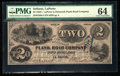 Obsoletes By State:Indiana, La Porte, IN- La Porte and Plymouth Plank Road Company $2 June 3, 1857 Wolka 386-3. ...