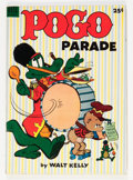 Golden Age (1938-1955):Funny Animal, Dell Giant Comics: Pogo Parade #1 (Dell, 1953) Condition: VG/FN....
