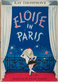 Books:Children's Books, Kay Thompson. Eloise in Paris. New York: Simon and Schuster,1957. First printing. Quarto. Fully illustrated. Publis...
