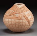 American Indian Art:Pottery, A SANTA CLARA POLYCHROME JAR. Jody Folwell . c. 1985...