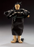 American Indian Art:Beadwork and Quillwork, A PLAINS FEMALE DOLL...
