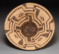 American Indian Art:Baskets, A PIMA COILED BOWL . c. 1930...