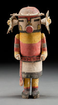 American Indian Art:Kachina Dolls, A HOPI COTTONWOOD KACHINA DOLL. c. 1920...