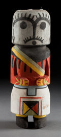 American Indian Art:Kachina Dolls, A HOPI-STYLE COTTONWOOD KACHINA DOLL. c. 1940...