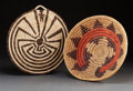American Indian Art:Baskets, TWO SOUTHWEST COILED BASKETS. ... (Total: 2 Items)