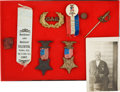 Antiques:Antiquities, Lot of Assorted Union Army G.A.R. Medals, Ribbons, and Insignia....