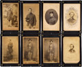 Antiques:Antiquities, Lot of Eight Assorted Civil War Carte-de-Visite Portraits. ...(Total: 8 )